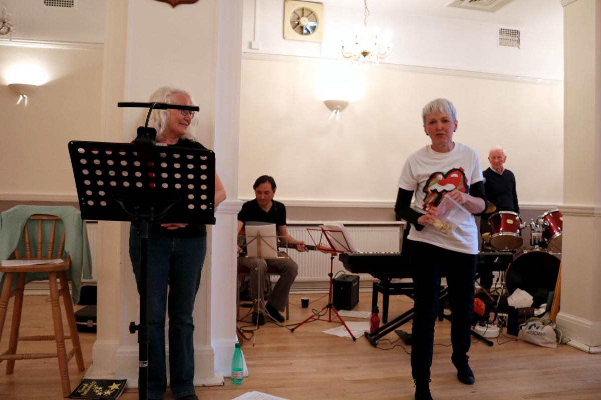 MusicSmart Singing Saturdays Swinging Sixties day ii May '19